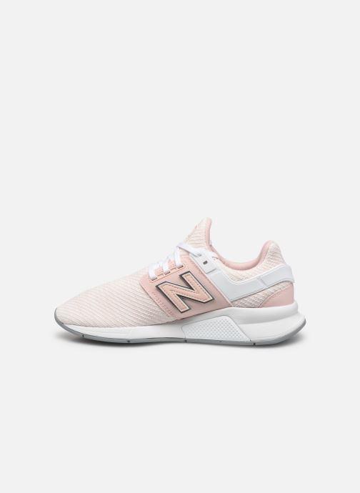 Sneakers New Balance WX-90 Roze voorkant