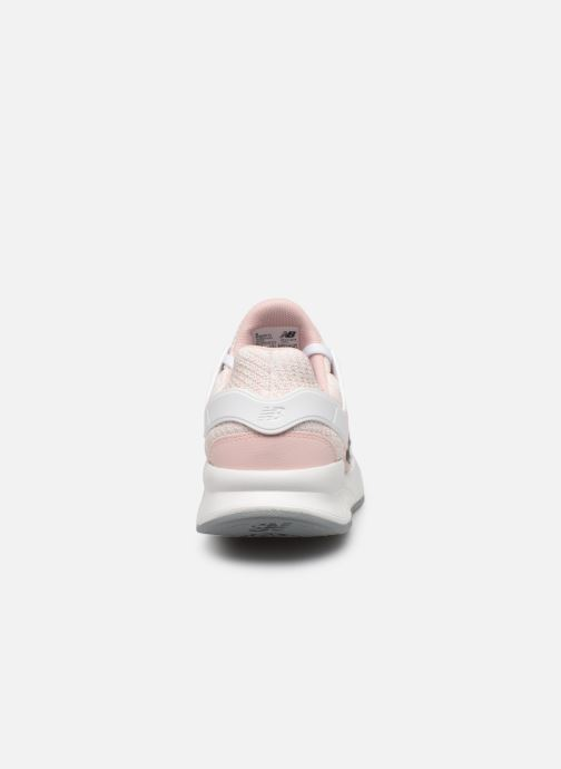 Trainers New Balance WX-90 Pink view from the right