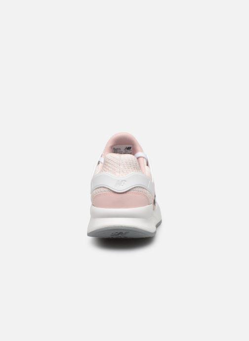 Sneaker New Balance WX-90 rosa ansicht von rechts
