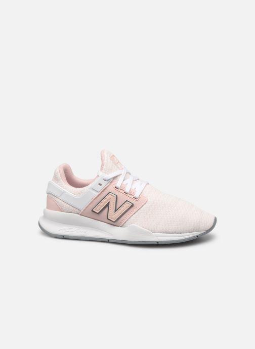 Sneaker New Balance WX-90 rosa ansicht von hinten