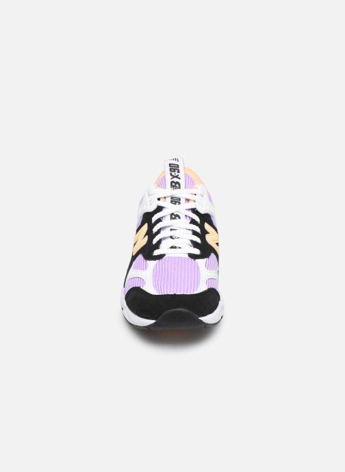 Baskets New Balance WX-90 Violet vue portées chaussures