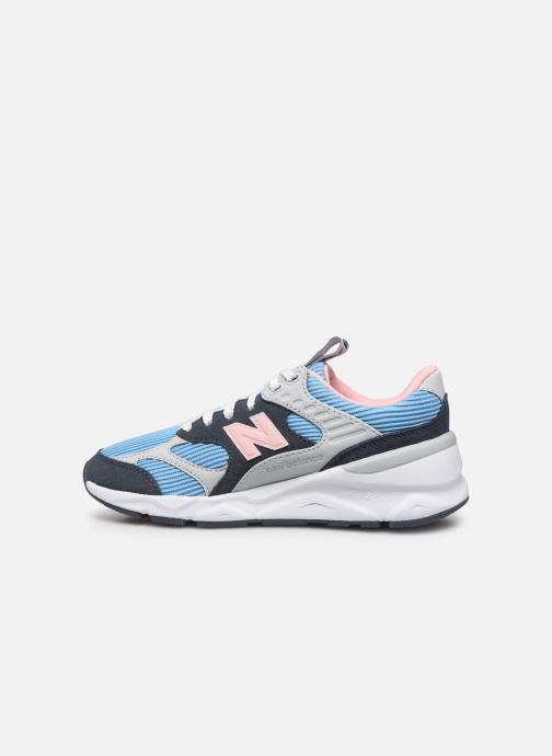 Sneakers New Balance WX-90 Blauw voorkant