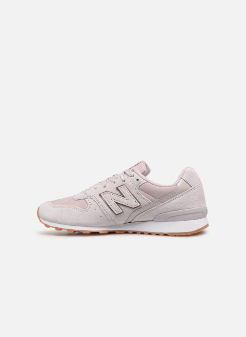 Sneaker New Balance W996 rosa ansicht von vorne
