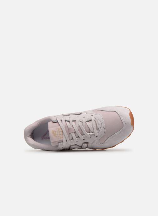 Sneaker New Balance W996 rosa ansicht von links