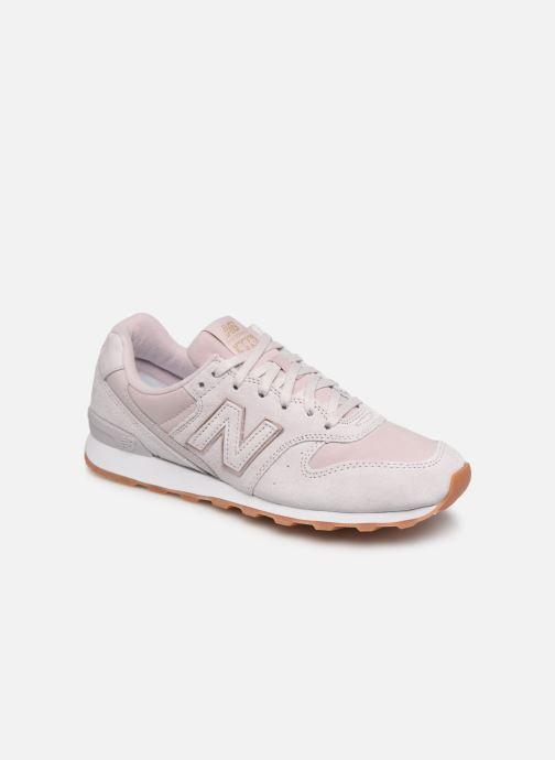 Sneakers New Balance W996 Rosa detaljerad bild på paret