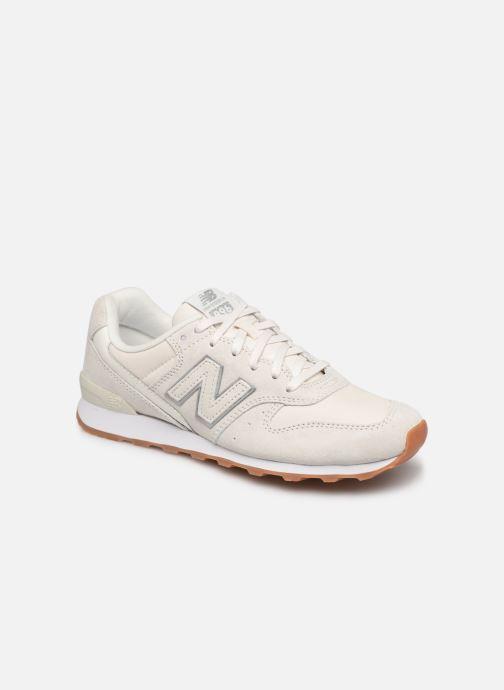 Sneakers New Balance W996 Vit detaljerad bild på paret