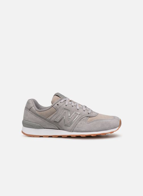 Sneakers New Balance W996 Grijs achterkant