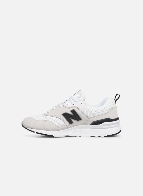 Sneakers New Balance W997 Bianco immagine frontale