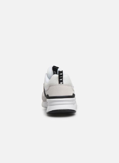 Baskets New Balance W997 Blanc vue droite