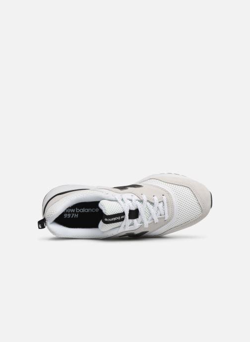 Baskets New Balance W997 Blanc vue gauche