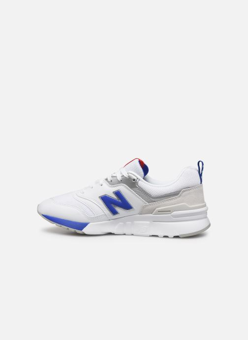 Sneakers New Balance W997 Wit voorkant