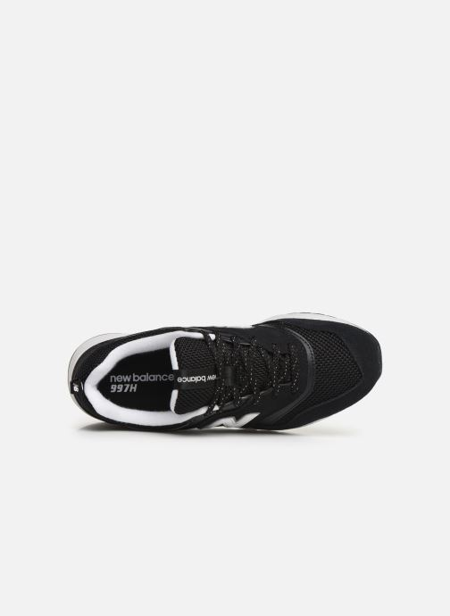 Trainers New Balance W997 Black view from the left