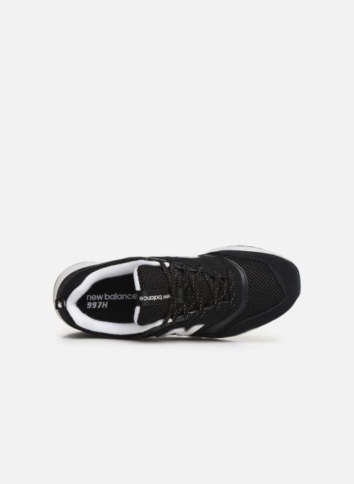 Sneakers New Balance W997 Zwart links