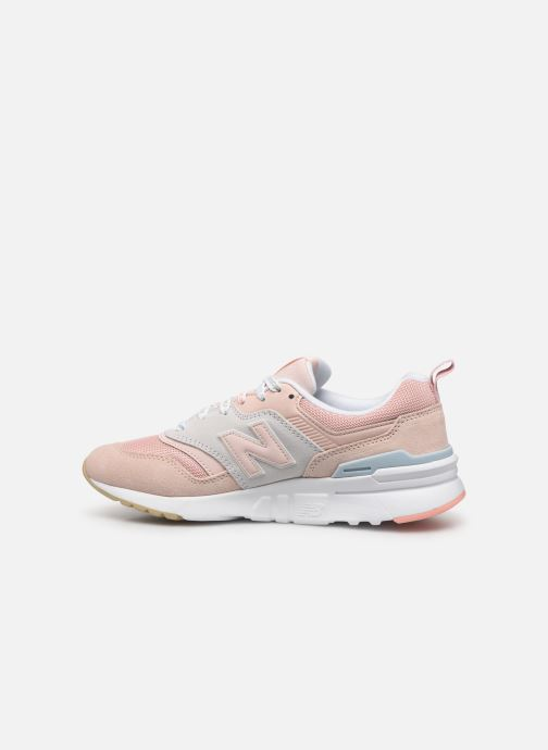 Baskets New Balance W997 Rose vue face