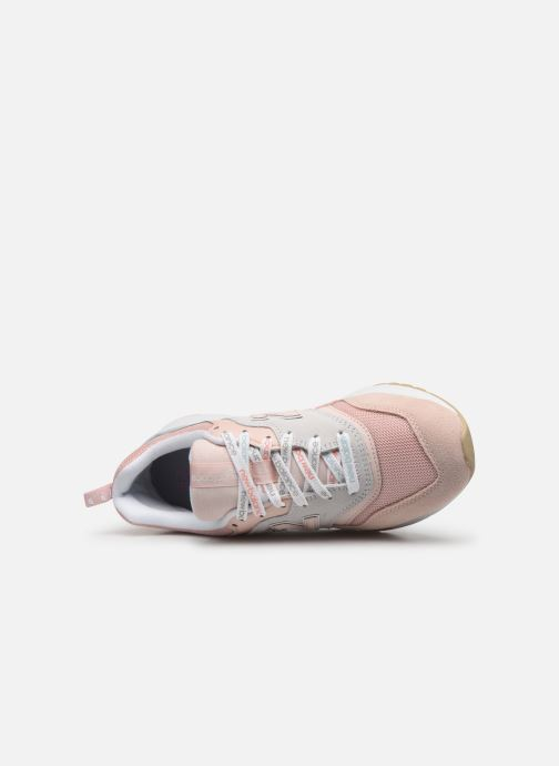 Baskets New Balance W997 Rose vue gauche