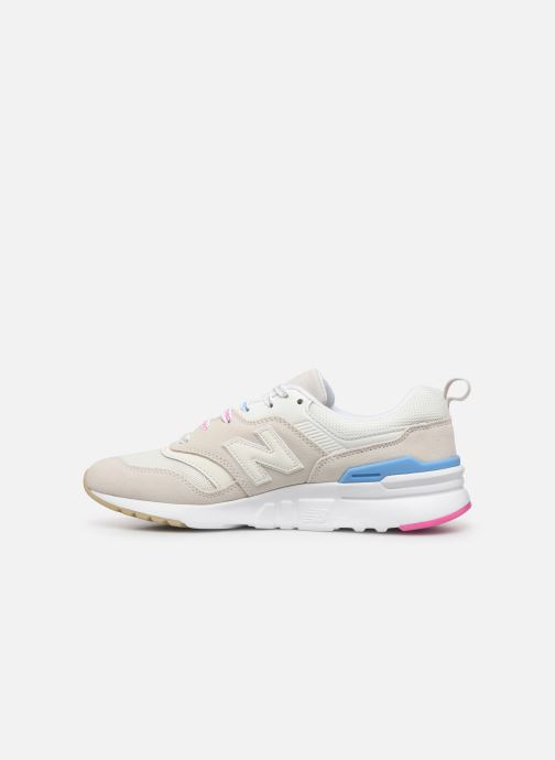 Sneakers New Balance W997 Hvid se forfra