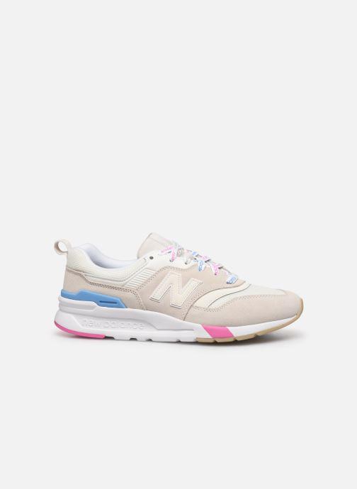 Sneakers New Balance W997 Hvid se bagfra