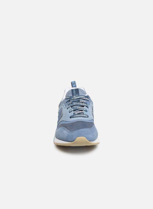 Sneaker New Balance W997 blau schuhe getragen
