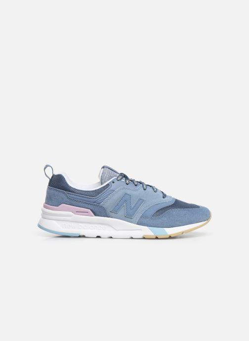 Sneakers New Balance W997 Blauw achterkant