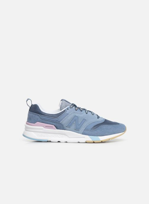 Sneakers New Balance W997 Blauw achterkant