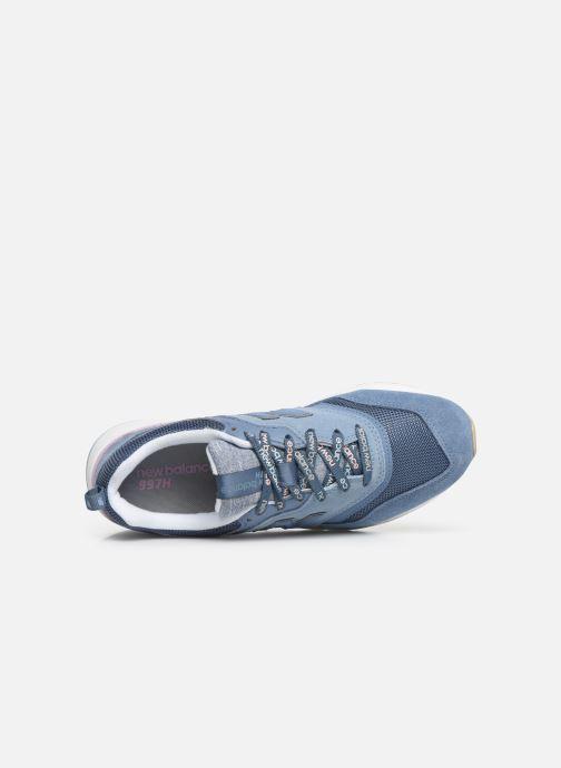 Baskets New Balance W997 Bleu vue gauche