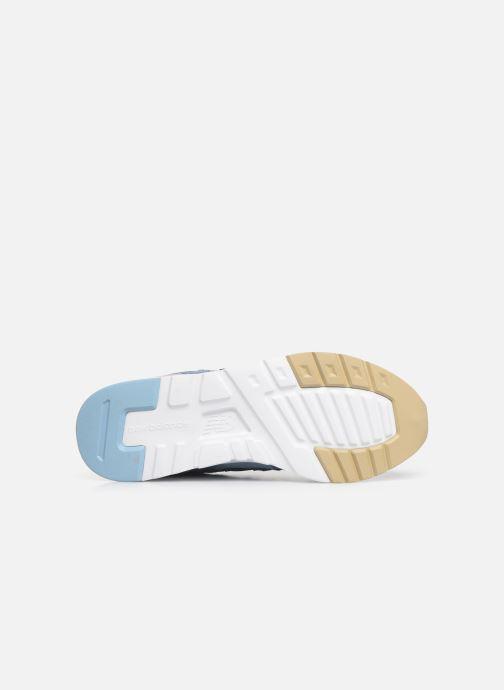 Sneaker New Balance W997 blau ansicht von oben