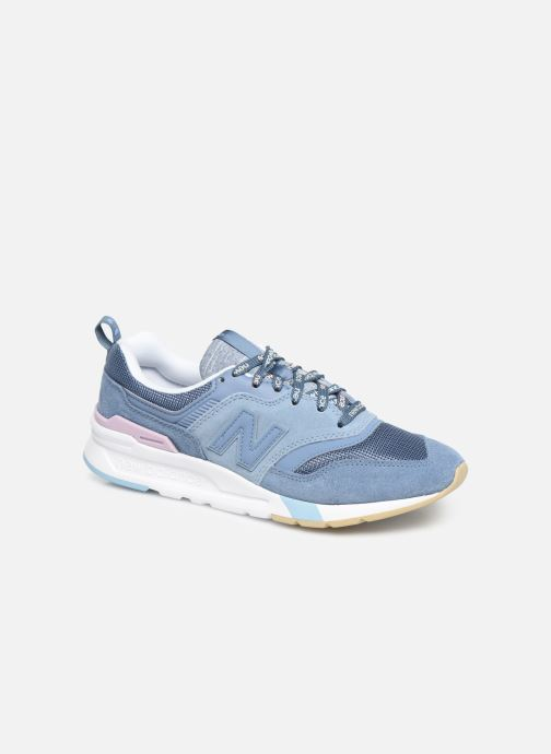 Sneakers New Balance W997 Blauw detail