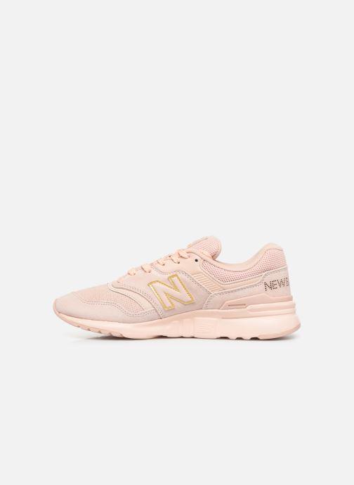 Sneaker New Balance W997 rosa ansicht von vorne