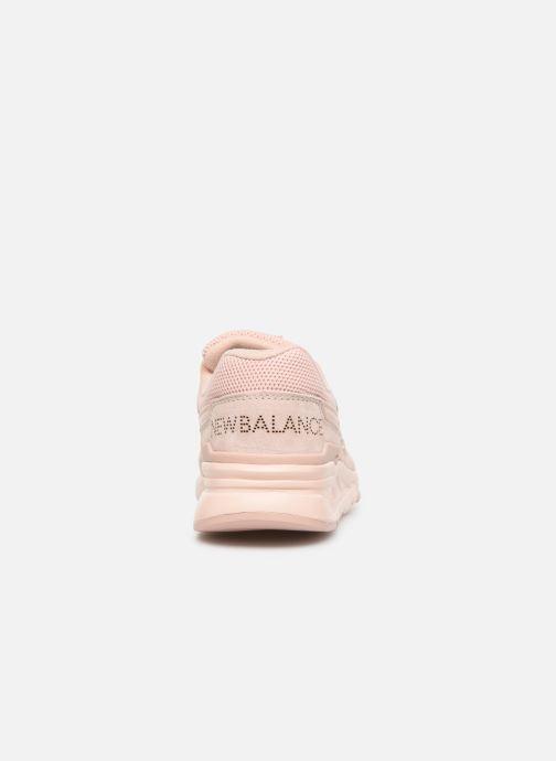 Sneaker New Balance W997 rosa ansicht von rechts