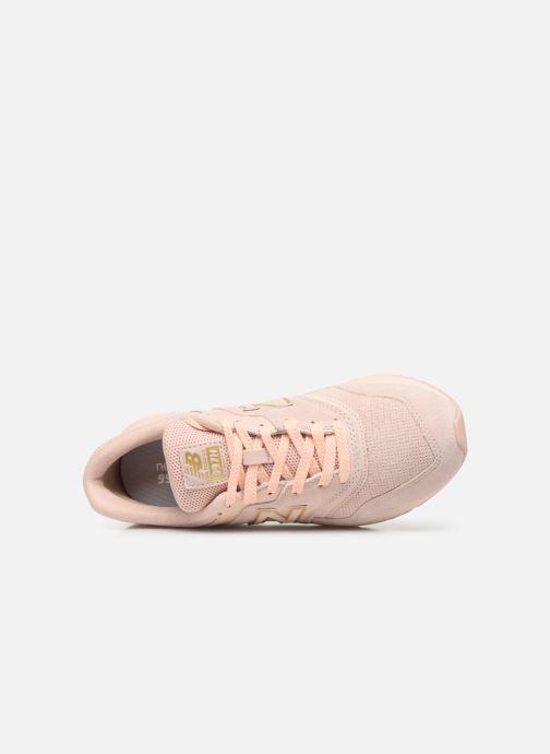 Sneaker New Balance W997 rosa ansicht von links