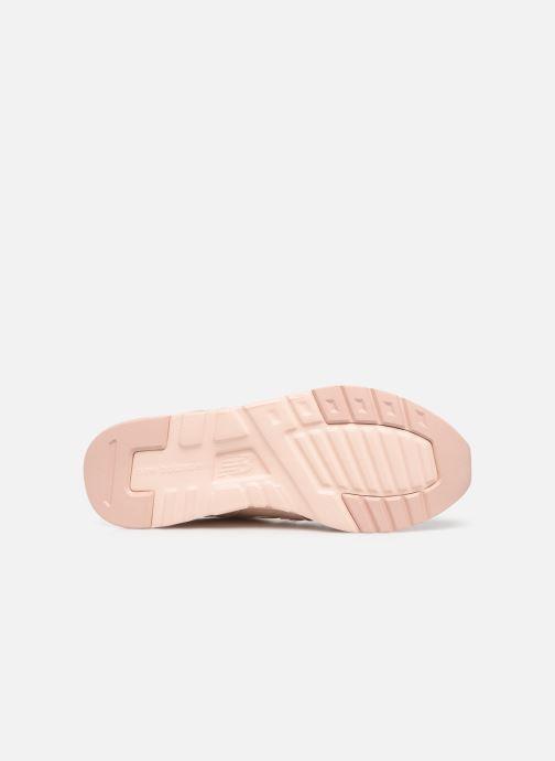 Sneaker New Balance W997 rosa ansicht von oben