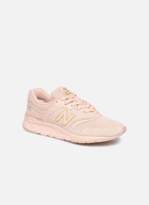 Sneaker New Balance W997 rosa detaillierte ansicht/modell