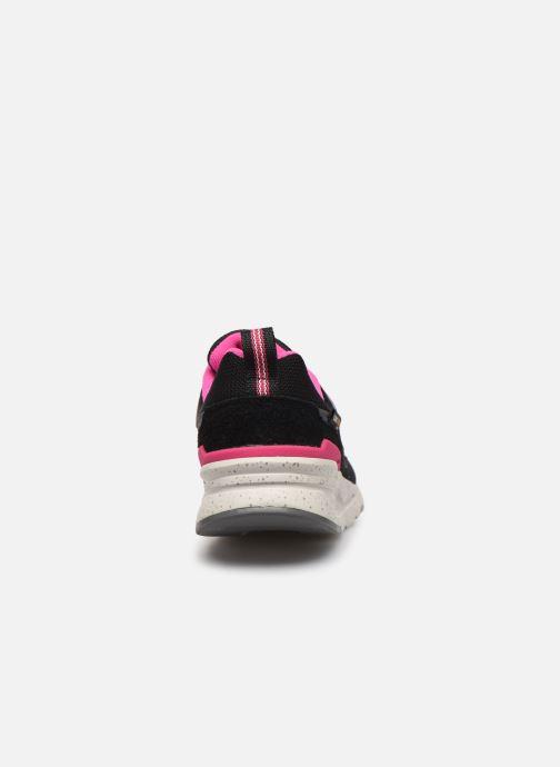 Sneakers New Balance W997 Zwart rechts