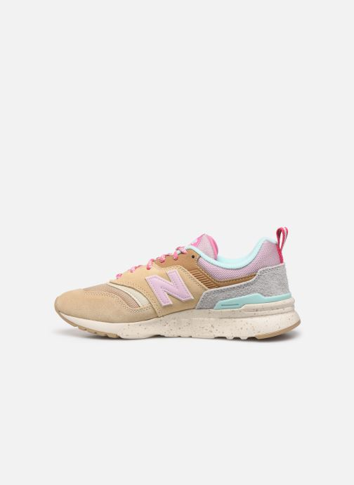 Baskets New Balance W997 Beige vue face