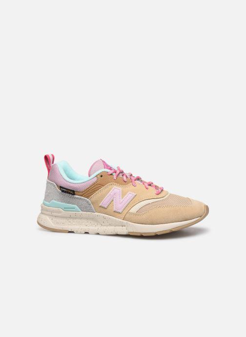 Sneaker New Balance W997 beige ansicht von hinten