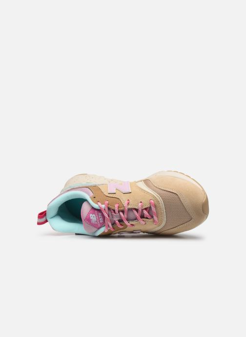 Baskets New Balance W997 Beige vue gauche