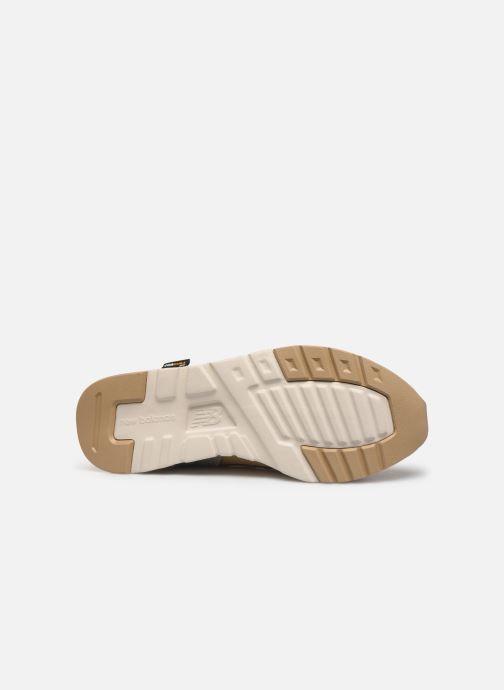 Sneaker New Balance W997 beige ansicht von oben