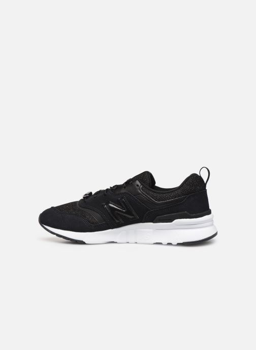 Sneakers New Balance W997 Sort se forfra