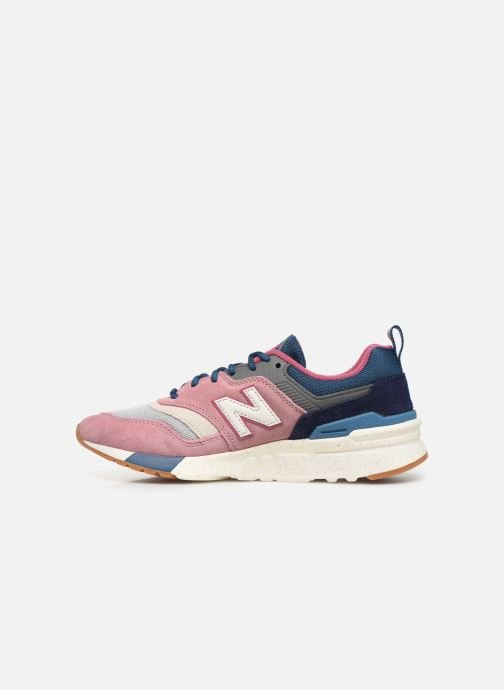 Sneakers New Balance W997 Roze voorkant