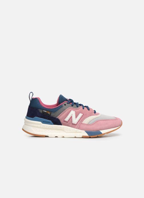 Sneakers New Balance W997 Roze achterkant