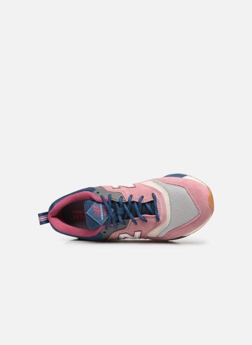 Sneakers New Balance W997 Roze links