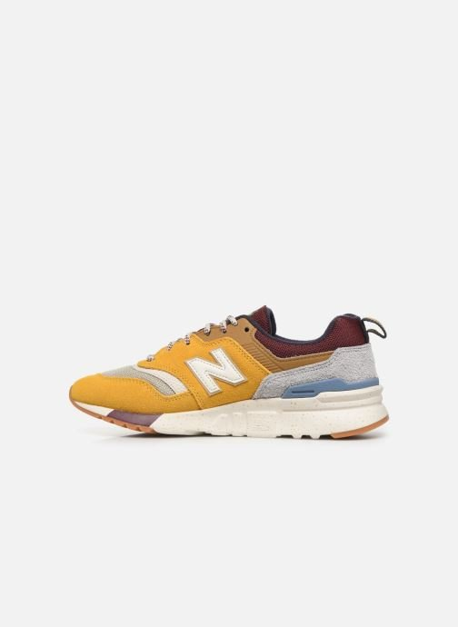Trainers New Balance W997 Yellow front view