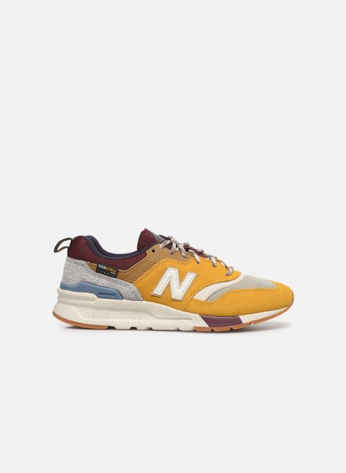 Trainers New Balance W997 Yellow back view