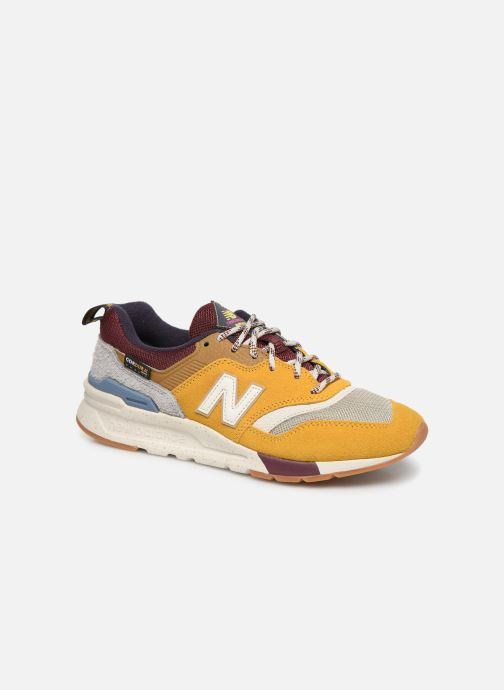 Trainers New Balance W997 Yellow detailed view/ Pair view
