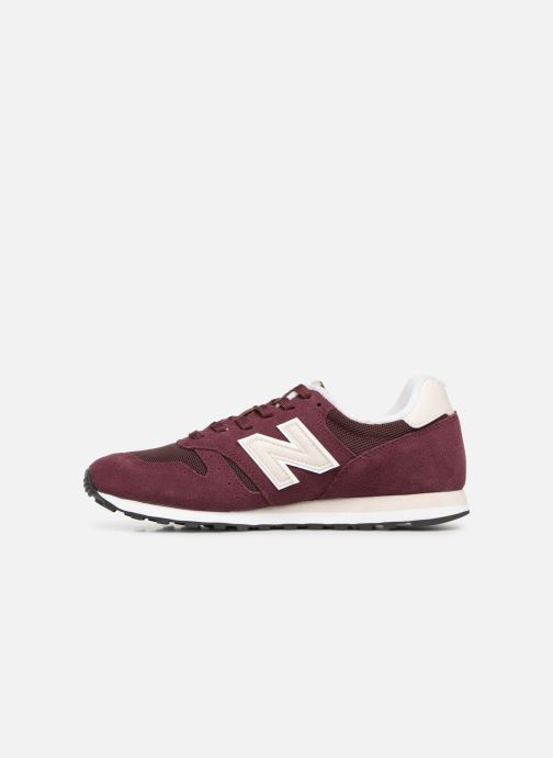 Trainers New Balance W373 Burgundy front view