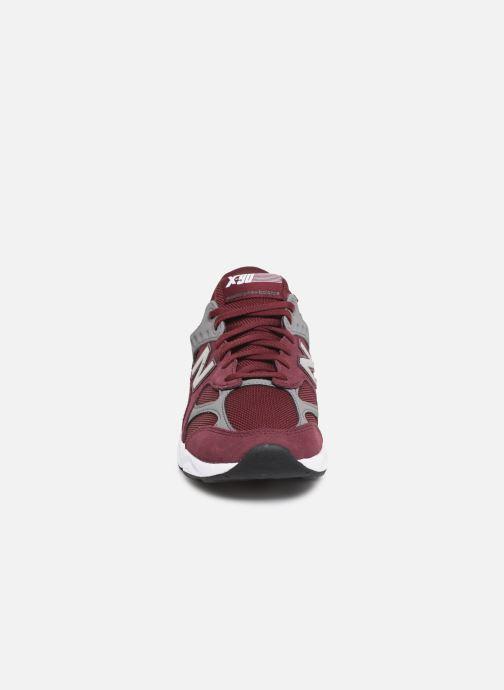 Baskets New Balance MX-90 Bordeaux vue portées chaussures