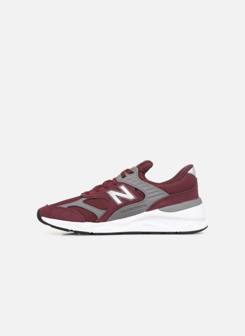 Trainers New Balance MX-90 Burgundy front view
