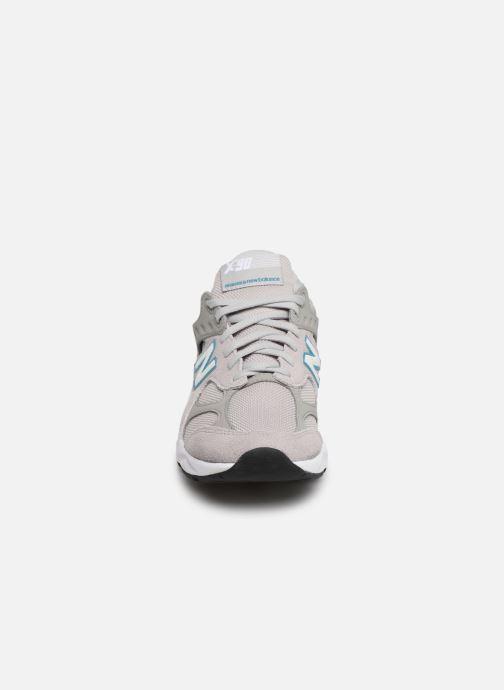 Baskets New Balance MX-90 Gris vue portées chaussures