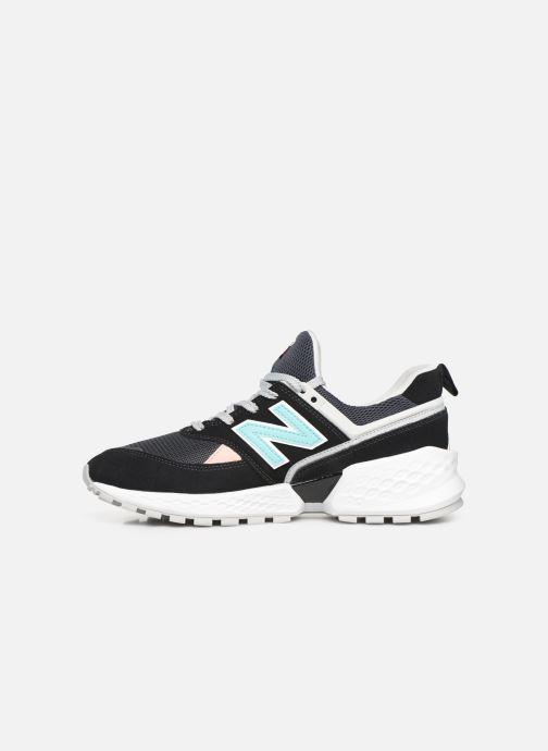 Sneakers New Balance 574 Zwart voorkant
