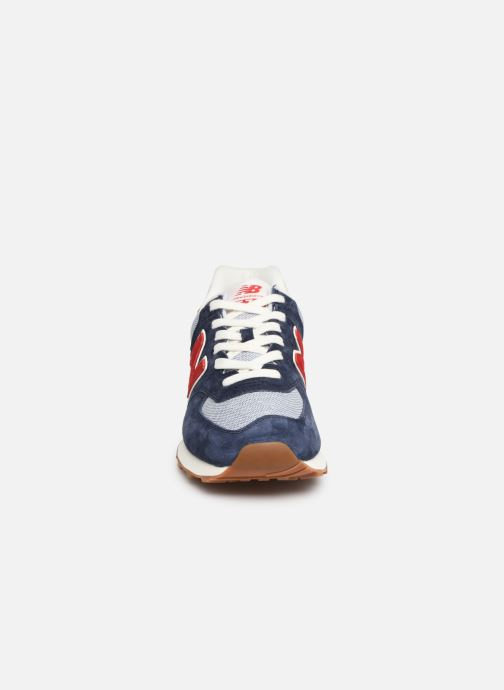 Trainers New Balance 574 Blue model view